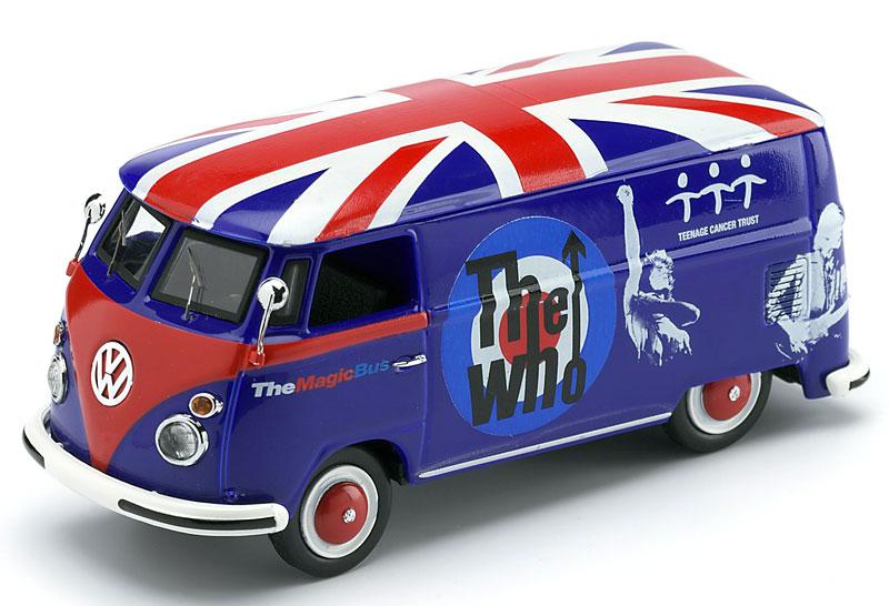 VW Magic Bus v bojových barvách kapely The Who: - fotka 1