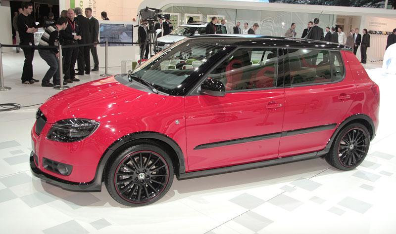 Autosalon Ženeva: Škoda Fabia Sports Design Concept: - fotka 24