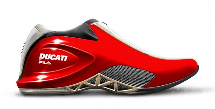 Ducati boty od značky FILA: - fotka 1