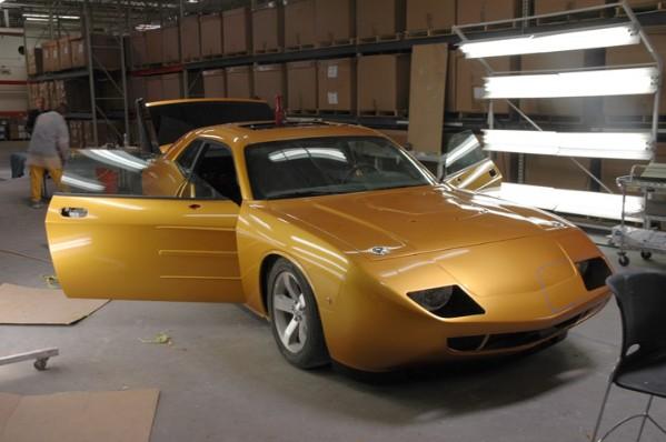 HPP Dodge Challenger Daytona Concept: - fotka 12