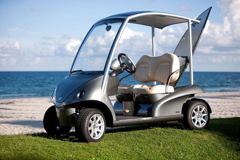 Garia: luxusní vozík pro milovníky golfu: - fotka 13