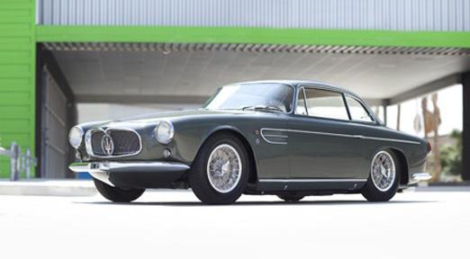 Maserati A6G/54 Berlinetta z roku 1956: zelená krasavice vydražena: - fotka 2