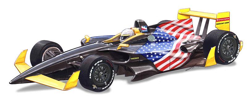 Lola: další možné šasi pro IndyCar: - fotka 1