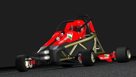 Hyper PRO Racer: Supermotokára s hmotností jen 160 kilogramů!: - fotka 3