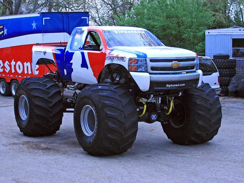 Bigfoot: po 35 letech z Fordu Chevroletem: - fotka 1