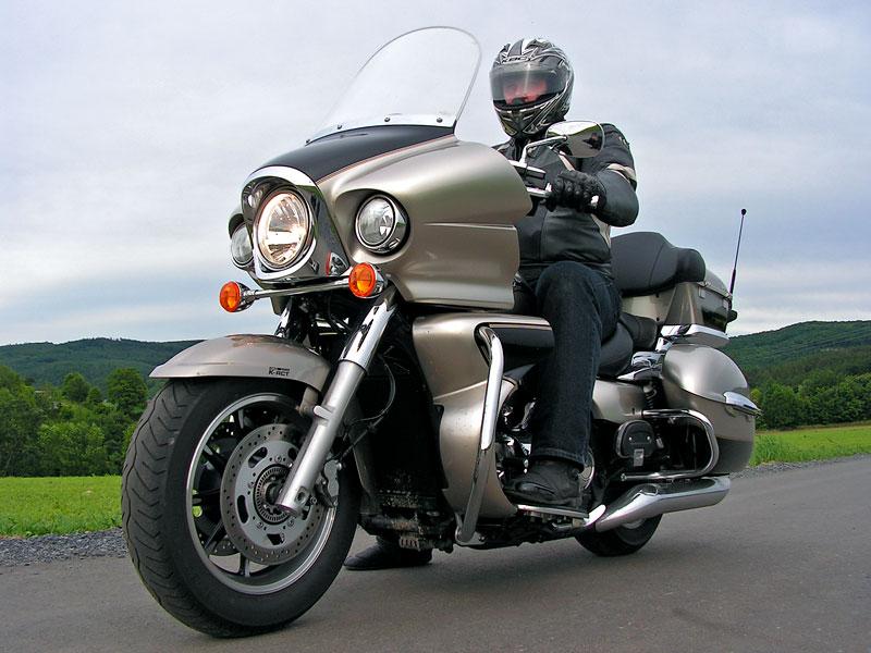 Test: Kawasaki VN1700 Voyager a srovnání s Harley-Davidson Electra Glide: - fotka 9