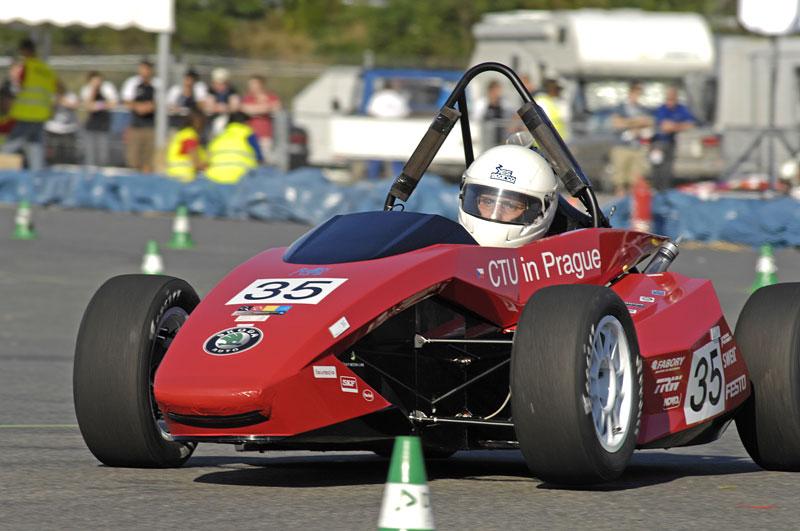 Formule ČVUT: solidní výsledek na Hockenheimu: - fotka 1