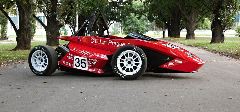 CTU CarTech FS.02: Studentská formule z pražského ČVUT: - fotka 6