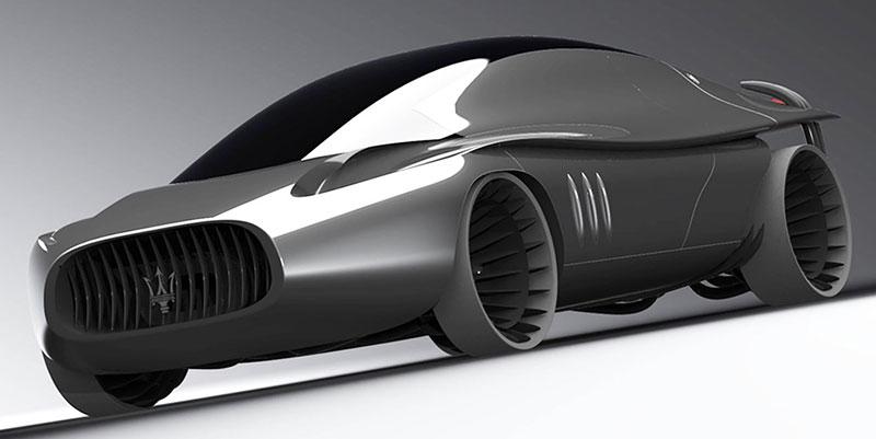 Maserati Quattroporte 2030: retro forever: - fotka 2