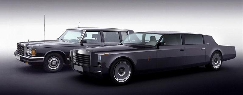 ZiL Concept: budoucnost prezidentských limuzín: - fotka 2