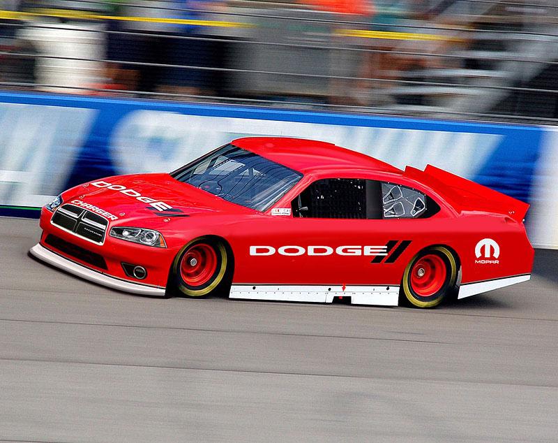 Speciál Dodge pro NASCAR s novou přídí: - fotka 1