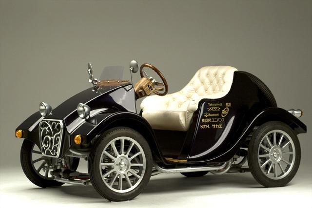 Takayanagi Miluira: retro elektromobil z Japonska: - fotka 2