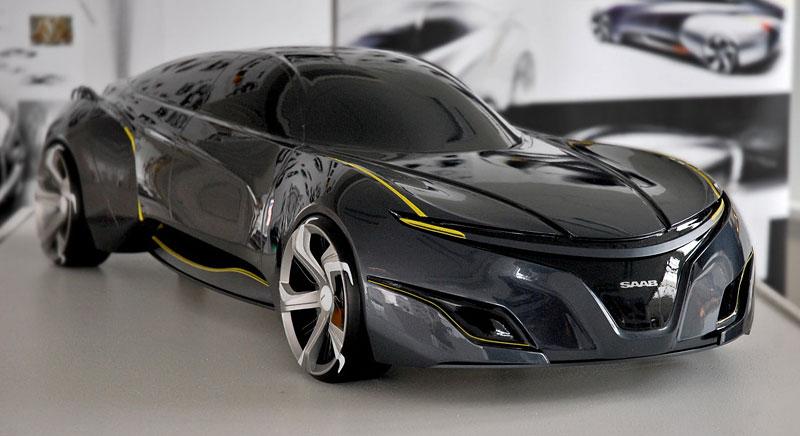 Saab: koncept sedanu pro rok 2025: - fotka 2