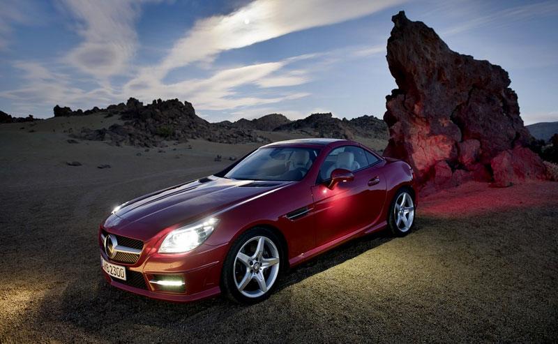 Mercedes-Benz SLK v akci: oficiální videa: - fotka 10
