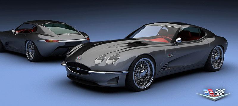Growler E-Concept: Jaguar E Type 50 let poté: - fotka 1