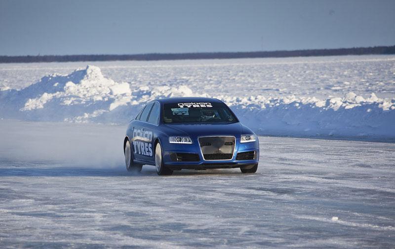 Nokian Tyres: rychlostní rekord Bentleye na ledu překonán!: - fotka 5