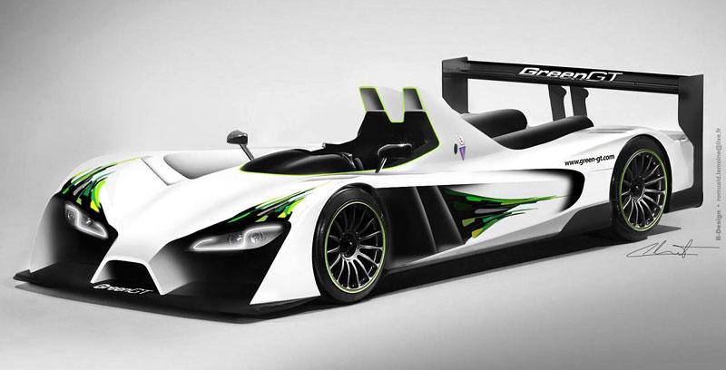 Green GT LMP H2: vodíkové auto na Le Mans již za rok: - fotka 1