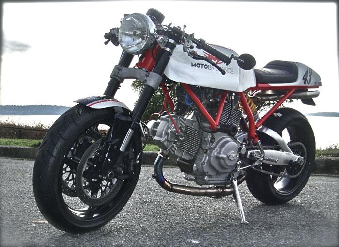Ducati Cafe Racer od Moto Brilliance: - fotka 2