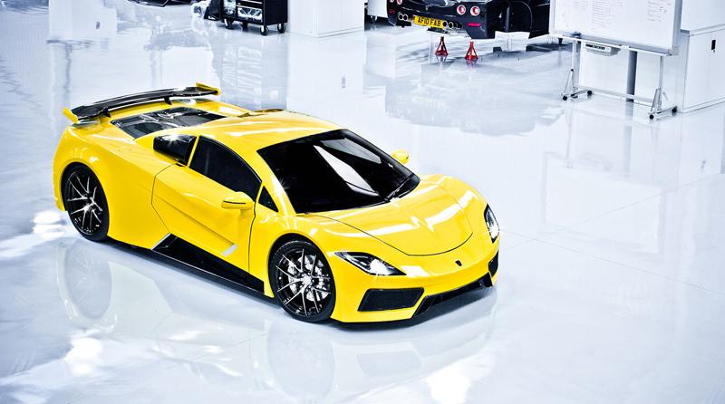 Arash AF8: Britský supersport se 7,0 V8 (410 kW): - fotka 5