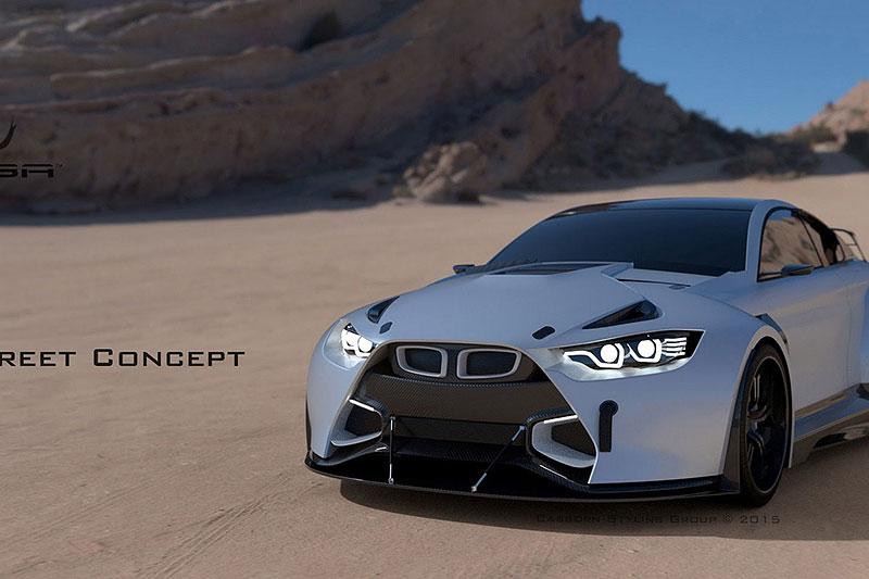 BMW M4 Coupé se proměňuje v Mamba GT3 Street Concept: - fotka 2