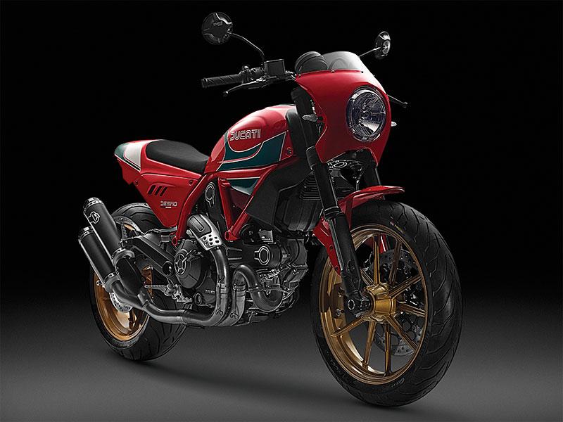 Ducati Scrambler Mike Hailwood Edition: Pocta z Thajska: - fotka 1