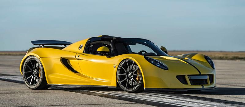 Hennessey Venom GT Spyder je nejrychlejší kabriolet na světě: - fotka 7