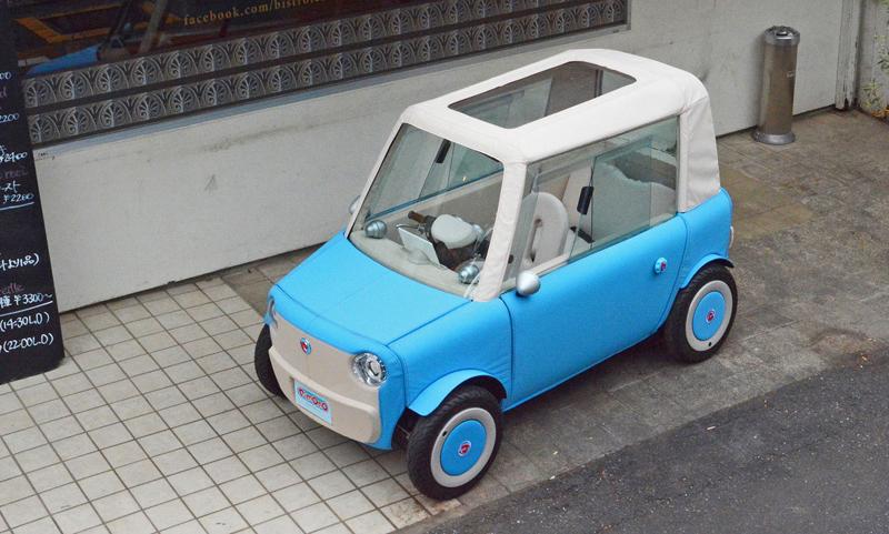 Rimono EV: Elektrický hadraplán z Japonska? Už příští rok: - fotka 6