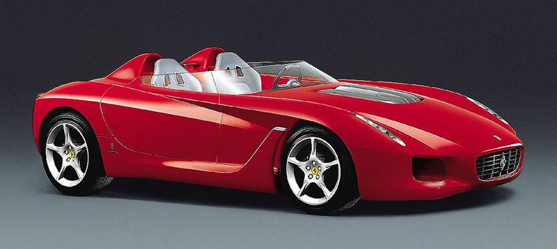 Pod lupou: Pininfarina Ferrari Rossa (2000) - Speedster k narozeninám: - fotka 5