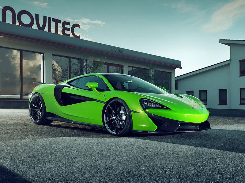 Novitec elegantně přiostřil McLaren 570GT: - fotka 3