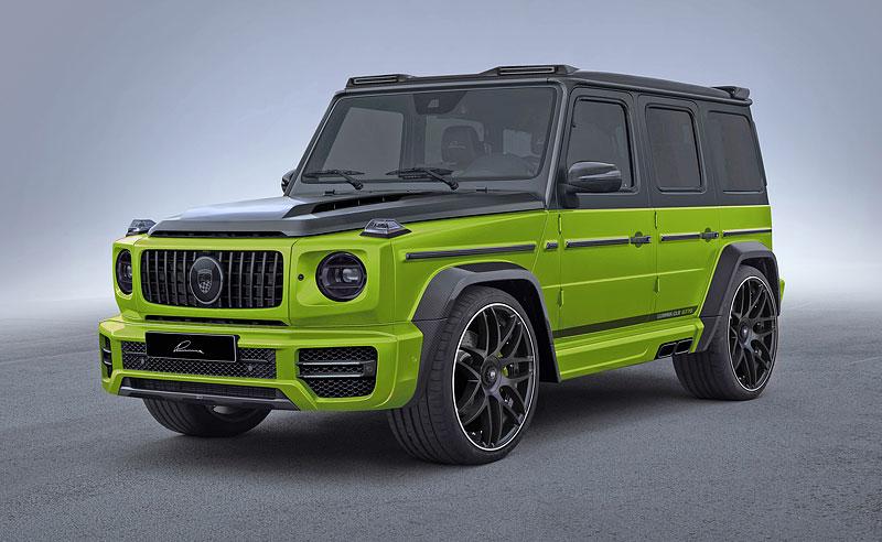 Lumma Design a záplava uhlíkových vláken pro nový Mercedes-AMG G 63: - fotka 5