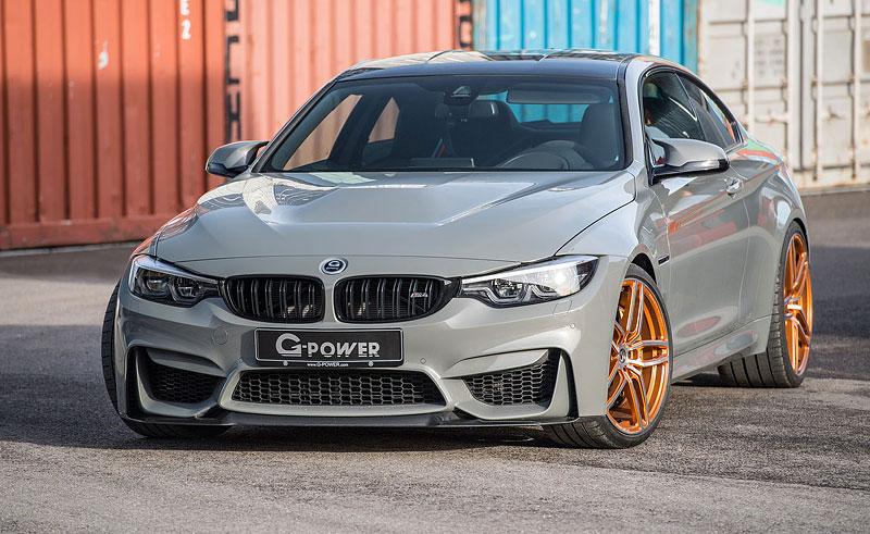BMW M4 CS ladí u G-Power na rovných 600 koní: - fotka 1