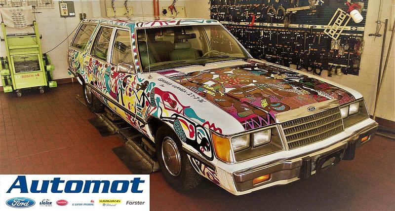 Německý prodejce chce za starý kombík od Fordu 25 milionů. Je to prý umělecké dílo: - fotka 2
