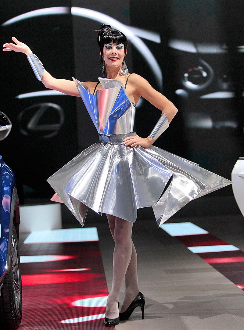Paříž 2014: Modelky: - fotka 46