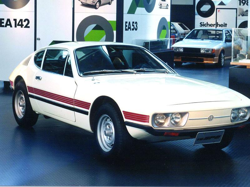 VW SP-2 Concept: Scirocco by mohlo mít sourozence: - fotka 5