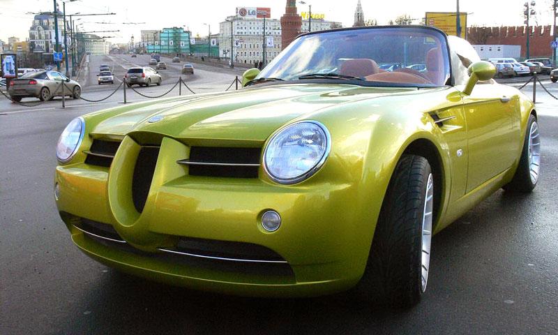 Cardi Body II: dvoumístný roadster s technikou BMW: - fotka 6