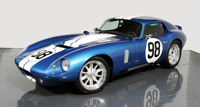 Shelby Cobra Daytona Coupe MKII: modernizovaná klasika: - fotka 2