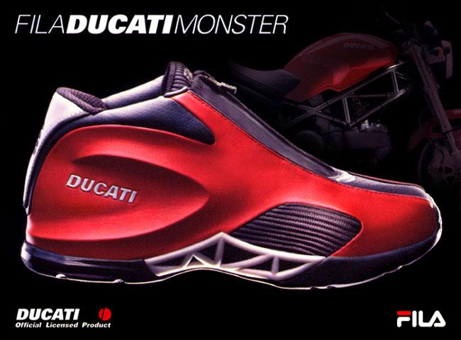 Ducati boty od značky FILA: - fotka 2