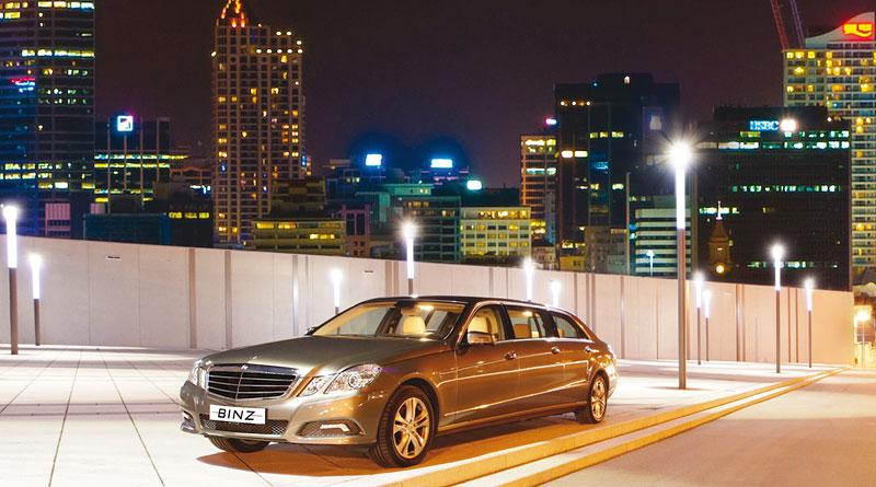 Binz: šest dveří pro Mercedes-Benz třídy E: - fotka 9
