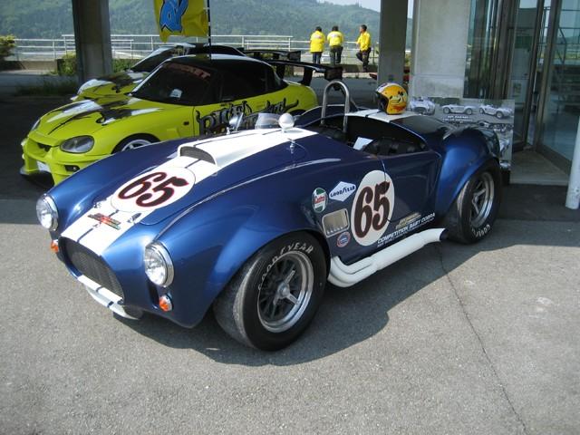 Baby Cobra: tříčtvrteční replika slavného roadsteru: - fotka 4