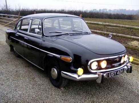 Tatra 603: jeden kousek na prodej až daleko v USA: - fotka 5