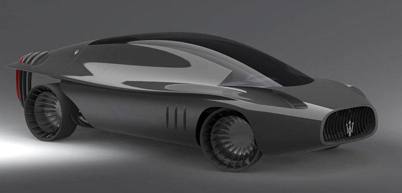 Maserati Quattroporte 2030: retro forever: - fotka 3