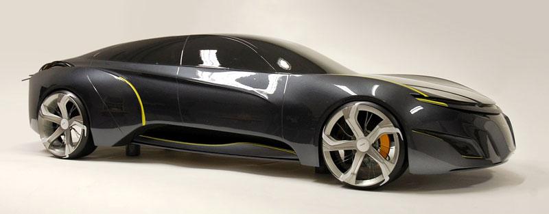 Saab: koncept sedanu pro rok 2025: - fotka 3
