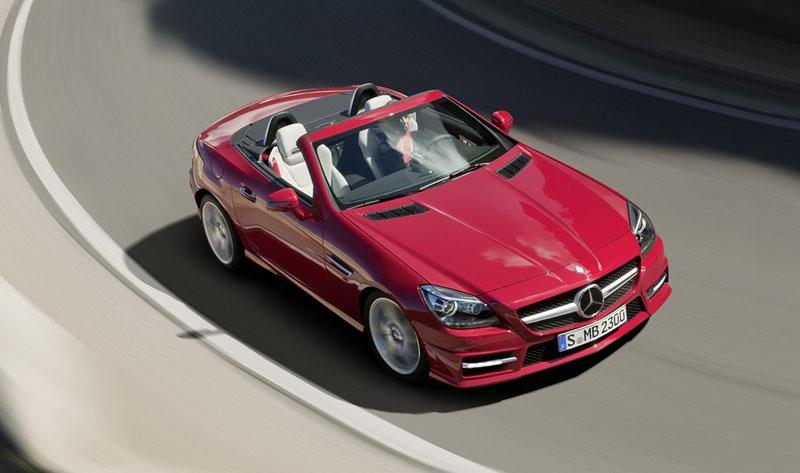 Mercedes-Benz SLK v akci: oficiální videa: - fotka 11