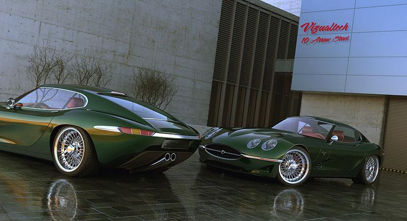Growler E-Concept: Jaguar E Type 50 let poté: - fotka 2