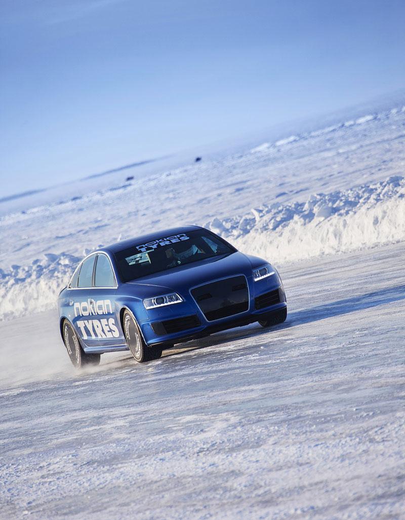 Nokian Tyres: rychlostní rekord Bentleye na ledu překonán!: - fotka 6
