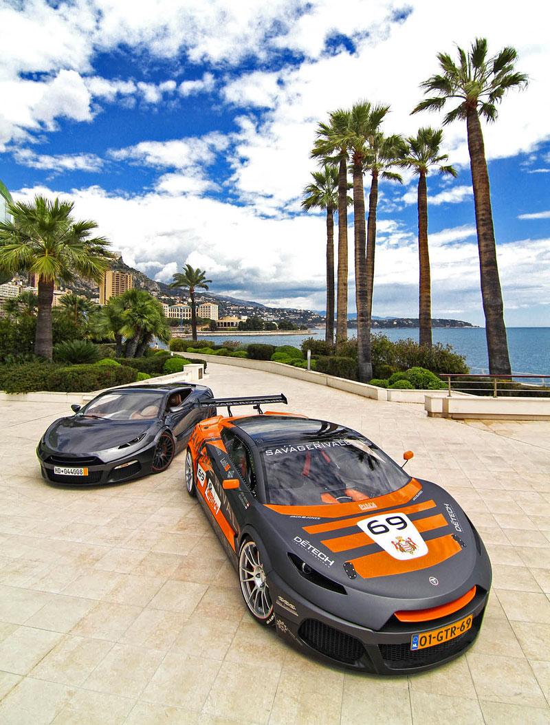 Savage Rivale GTR pózuje v Monaku: - fotka 3