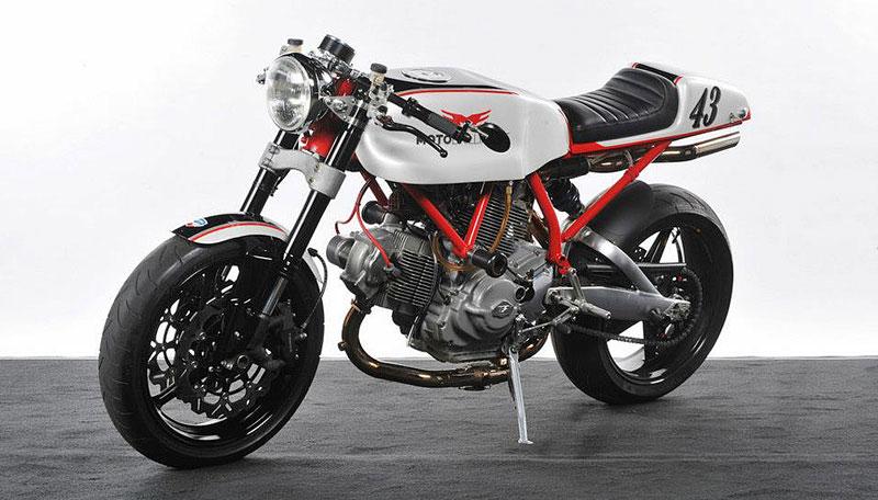 Ducati Cafe Racer od Moto Brilliance: - fotka 3