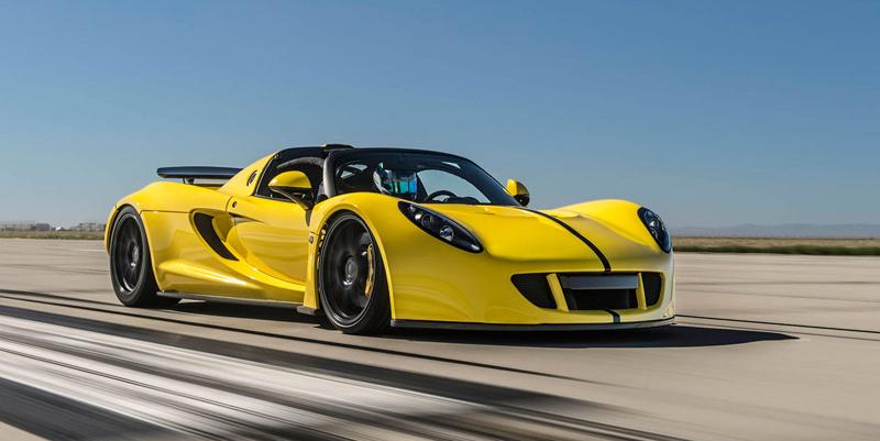 Hennessey Venom GT Spyder je nejrychlejší kabriolet na světě: - fotka 8