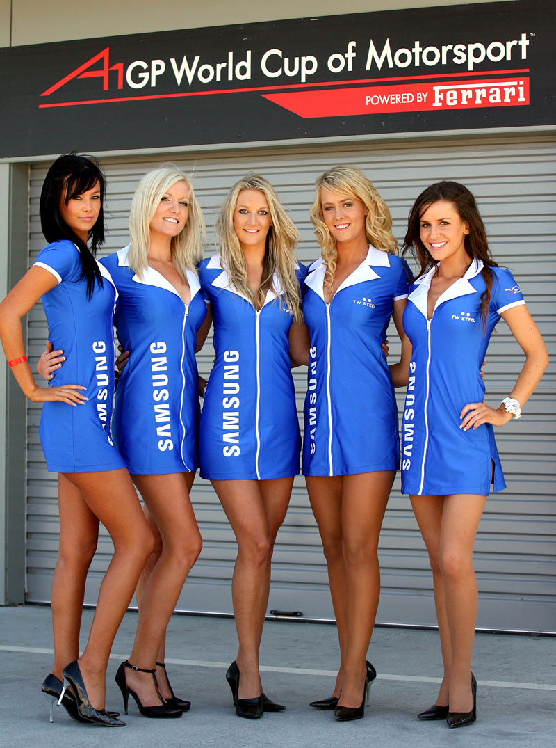 A1GP Grid Girls 2008/2009: - fotka 5