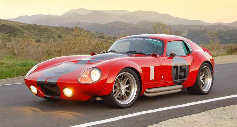 Shelby Daytona Coupe Le Mans Edition: replika závodní hvězdy: - fotka 11